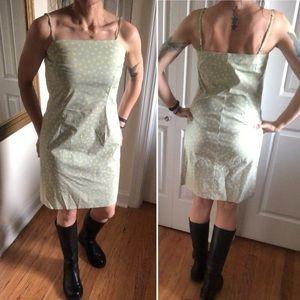 THE LIMITED polka dot 💛💚midi dress
